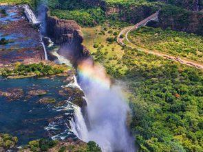 Victoria Falls Front Zimbabwe